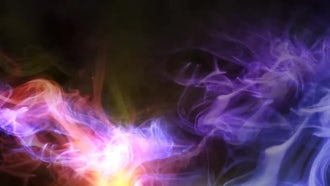 Colorful Smoke Background: Motion Graphics