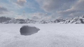 Snow Land: Motion Graphics
