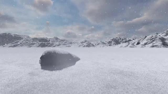Snow Land: Stock Motion Graphics