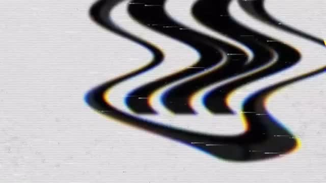 Trippy Glitch Logo: Premiere Pro Templates