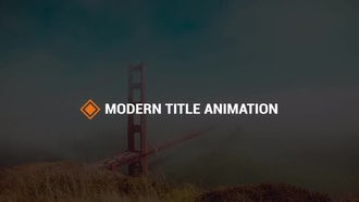Modern Titles V2: Premiere Pro Templates