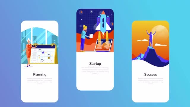 Business Flat - Instagram Stories: After Effects Templates