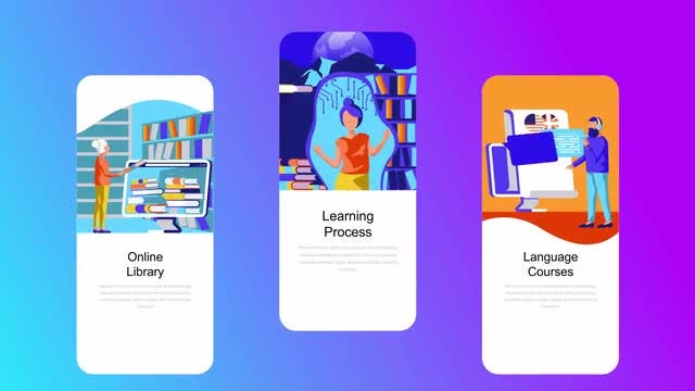Education Flat - Instagram Stories: After Effects Templates