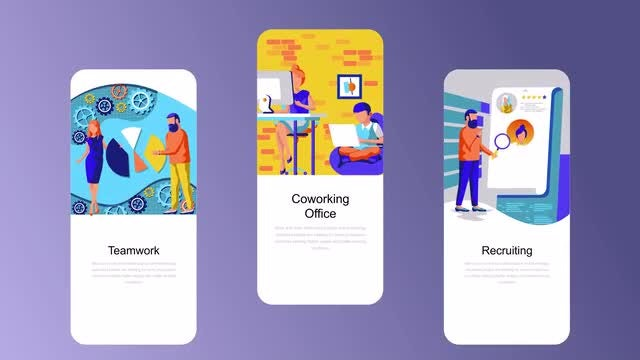 Employment Flat - Instagram Stories: After Effects Templates