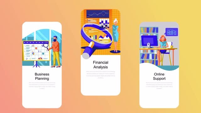 Finance Flat - Instagram Stories: After Effects Templates