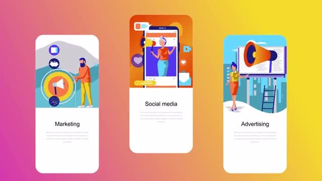 Marketing - Flat Instagram Stories: After Effects Templates