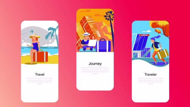 Vacation - Flat Instagram Stories: After Effects Templates