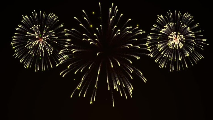 New Year Fireworks: Motion Graphics
