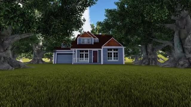 Farm House: Stock Motion Graphics