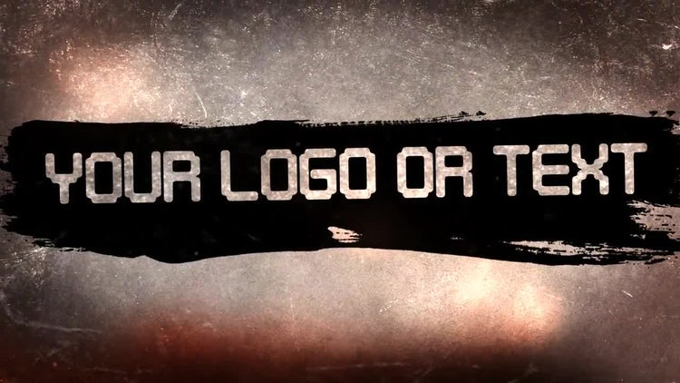 Military Grunge Promo: After Effects Templates