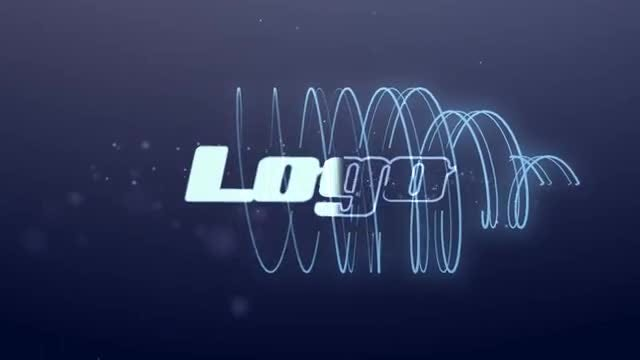 Neon Lines Logo: After Effects Templates