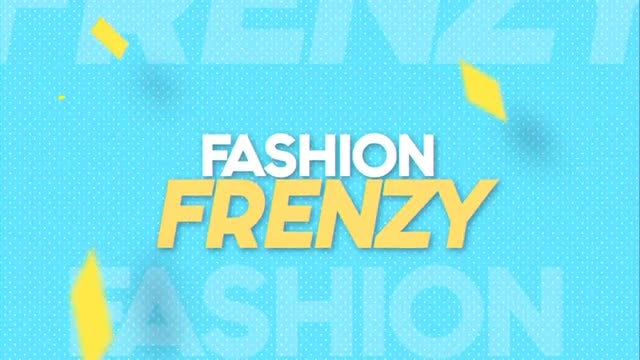 Fashion Frenzy: After Effects Templates