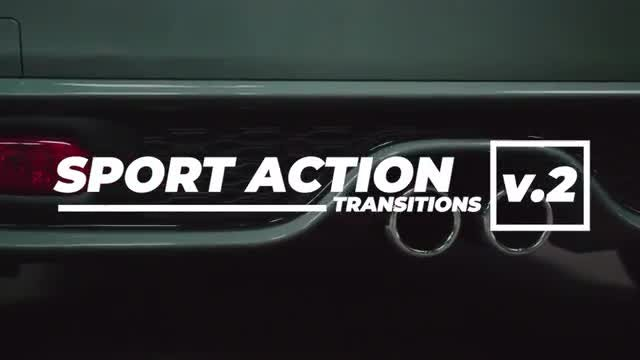 Sport Actions Transitions 2: Premiere Pro Presets