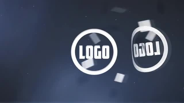 Folding Logo Reveal: After Effects Templates