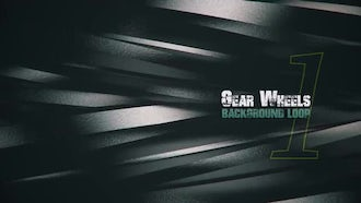 3D Metal Gears V1: Motion Graphics