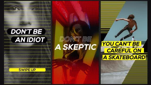 Awesome Stories: Motion Graphics Templates