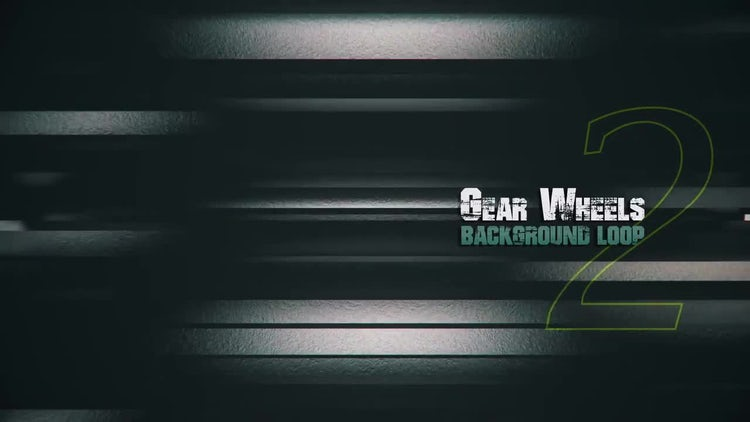 3D Metal Gears V2: Stock Motion Graphics