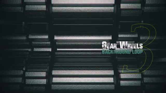 3D Metal Gears V3: Stock Motion Graphics
