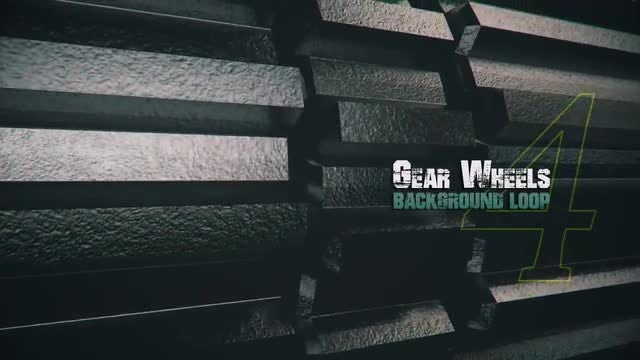 3D Metal Gears V4: Stock Motion Graphics