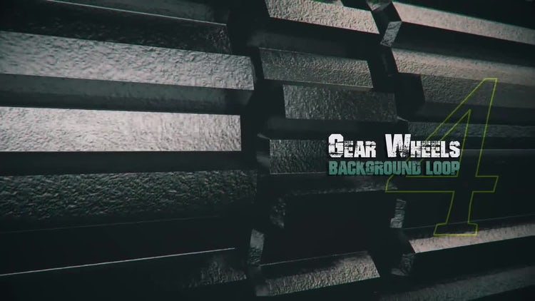 3D Metal Gears V4: Motion Graphics