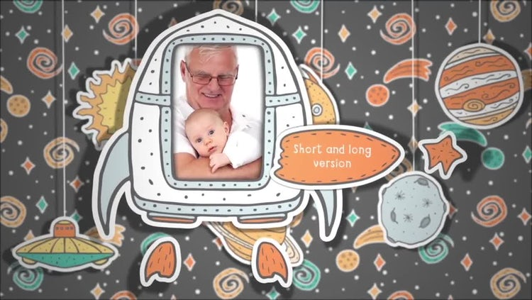 The Little Astronaut Slideshow: After Effects Templates