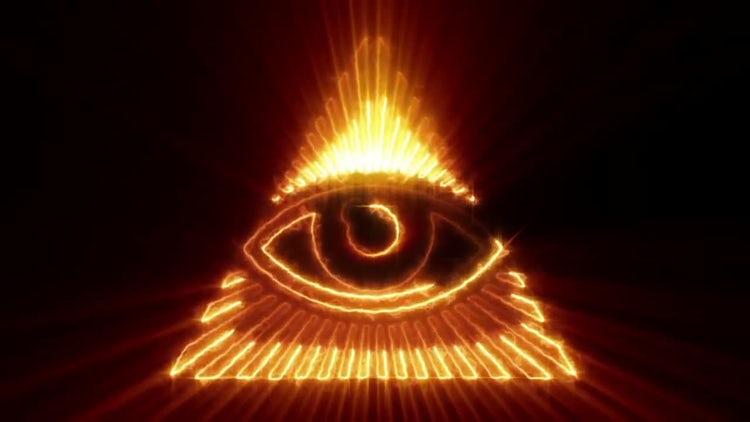 The Eye of Providence Loop: Stock Motion Graphics