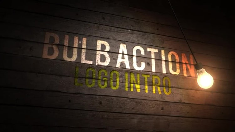 Bulb Action Logo Intro: After Effects Templates