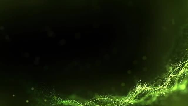 Green Organic Background: Stock Motion Graphics
