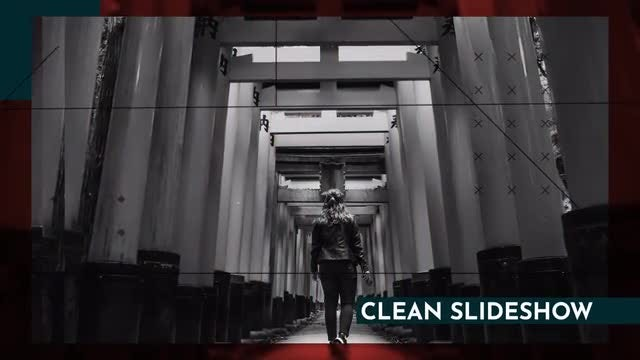 Clean Dynamic Slideshow: After Effects Templates