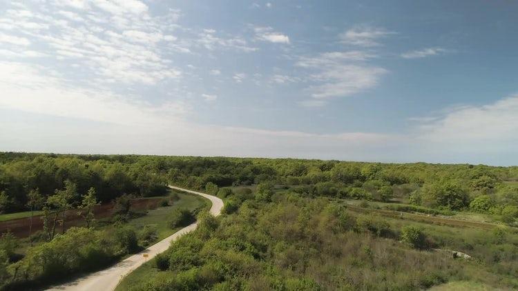 Rural Panorama: Stock Video