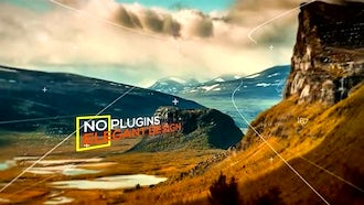 Modern Parallax: After Effects Templates