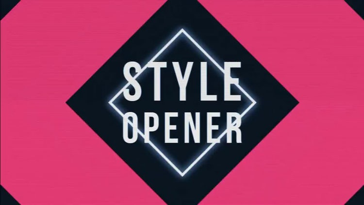 Stylish Opener: After Effects Templates