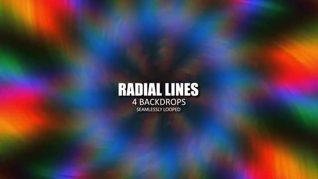 Radial Lines Pack: Stock Motion Graphics