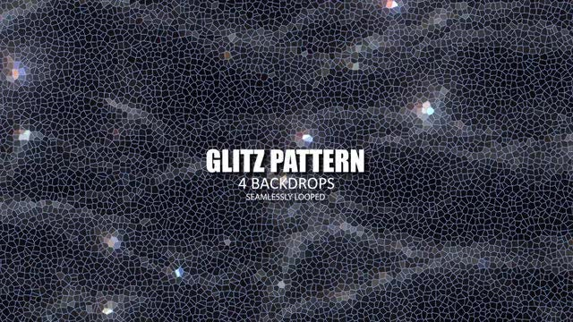 Glitz Pattern Pack: Stock Motion Graphics