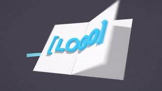 4K Logo Flip: After Effects Templates