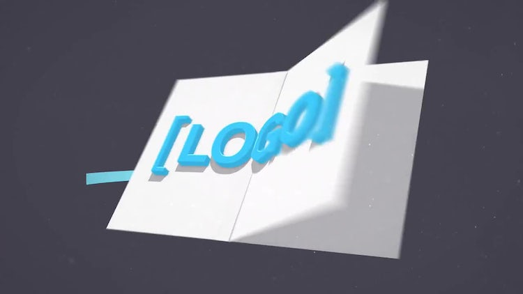 4K Logo Flip: After Effects Templates