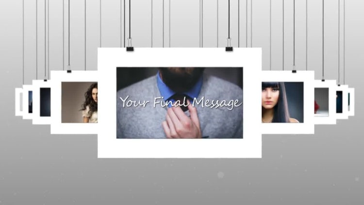 Hanging Photos: After Effects Templates