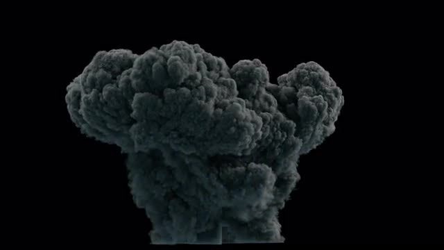 Big Explosion Effect: Stock Motion Graphics