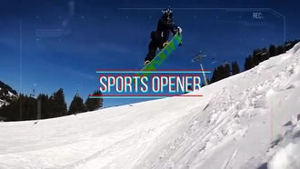 Sports Opener: After Effects Templates