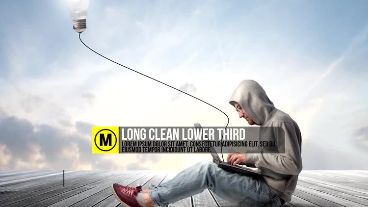 Clean Thirds: After Effects Templates