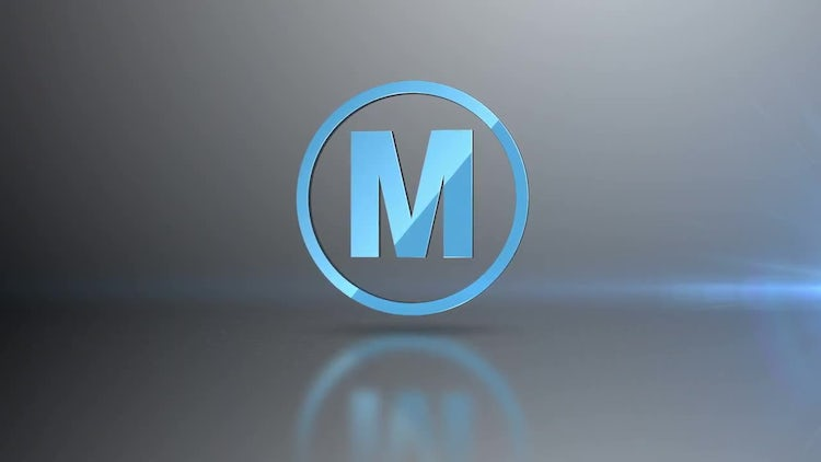 Spinning Logo Loop: After Effects Templates