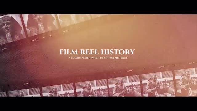 Film Reel History: Premiere Pro Templates
