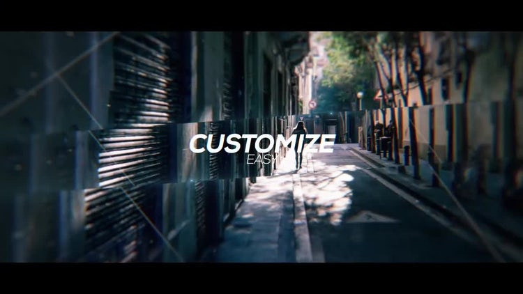 Cinematic Parallax Slideshow Opener: After Effects Templates