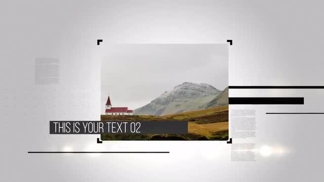 Slide Style: After Effects Templates