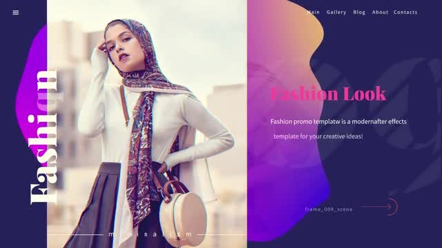 Fashion Promo: After Effects Templates