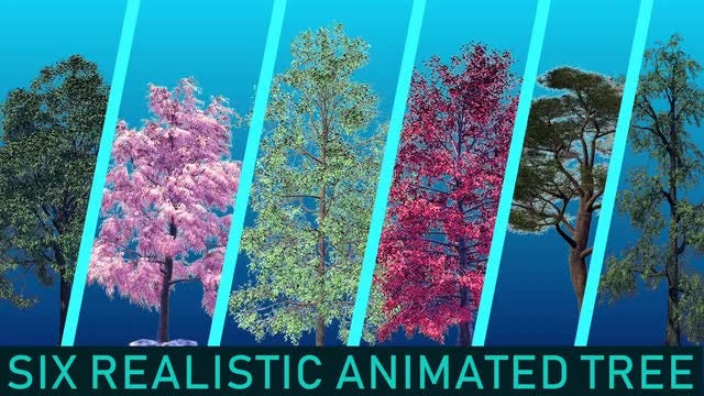 Tree Pack 2: Stock Motion Graphics