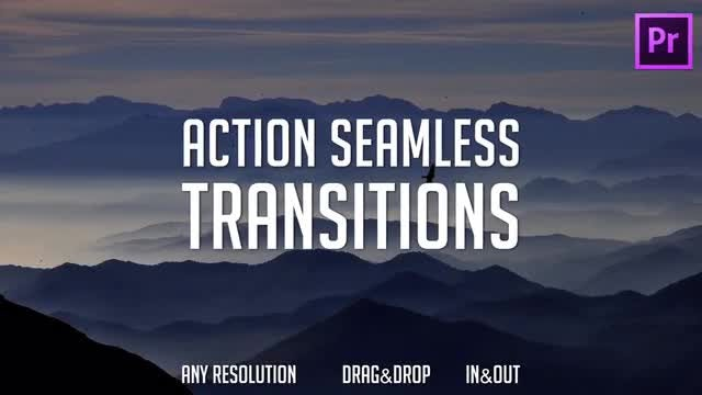 Action Transitions Presets (Pack 7): Premiere Pro Presets