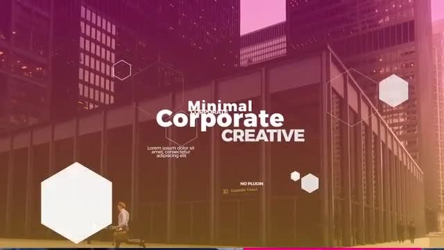 New Minimal Corporate: After Effects Templates
