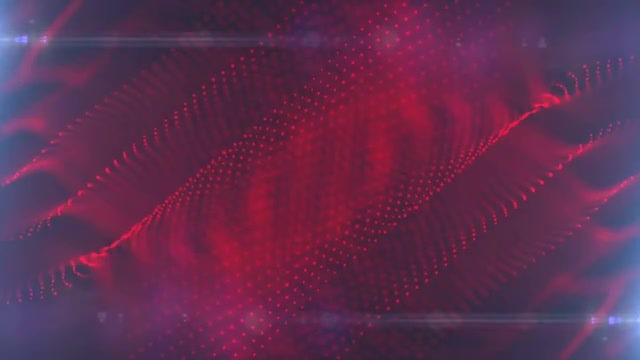 Red Particle Layers Background: Stock Motion Graphics