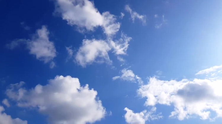 Clouds In The Sky: Stock Video